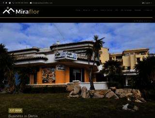 miraflor.info screenshot