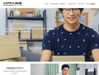 mirage-online.com screenshot