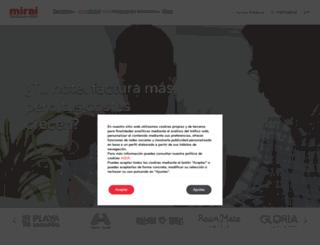 miraiglobal.com screenshot