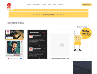 mirajcinemas.com screenshot
