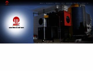 mirajgroup.in screenshot