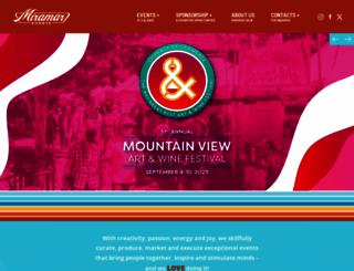 miramarevents.com screenshot