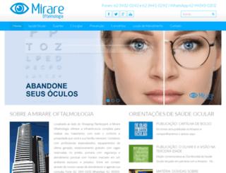 mirareoftalmologia.com.br screenshot