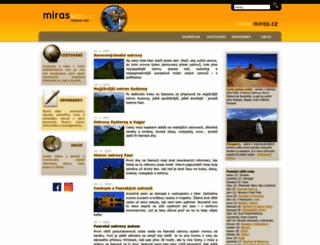 miras.cz screenshot