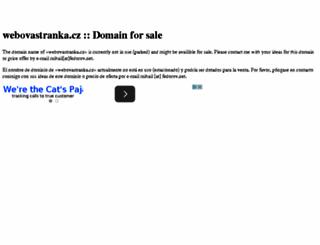 mirasimek.webovastranka.cz screenshot