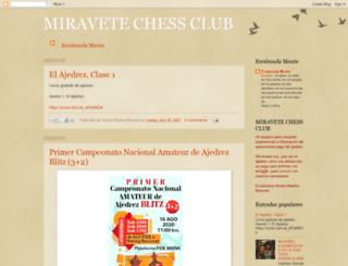 miravetechess.blogspot.com screenshot