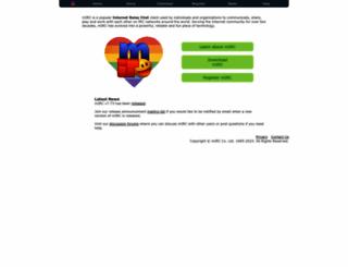 mirc.com screenshot