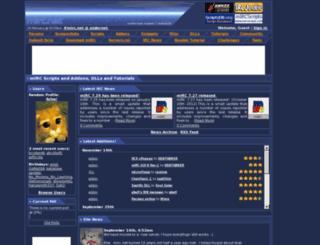 mirc.net screenshot