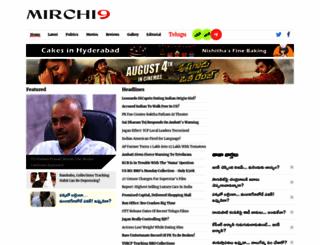 mirchi9.com screenshot