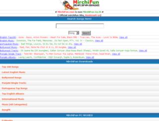 mirchifun.co.in screenshot
