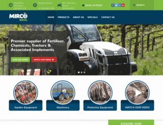 mircobrosmachinery.com screenshot