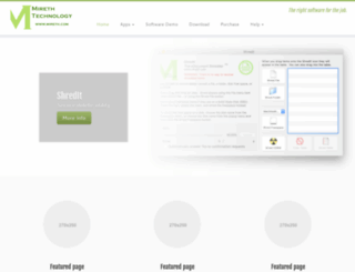 mireth.com screenshot