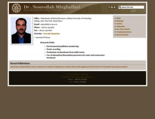mirghafari.iut.ac.ir screenshot