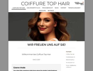 miriampeter-tophair.ch screenshot