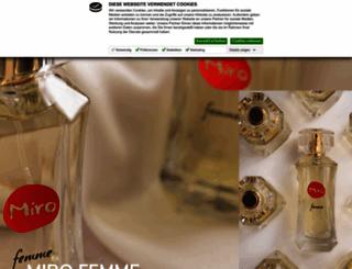 miro-cosmetics.de screenshot