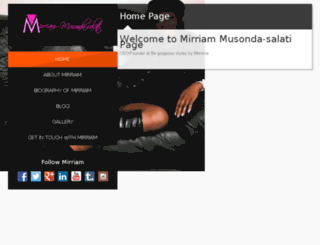 mirriammusondasalati.com screenshot