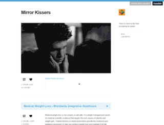 mirror-kissers.tumblr.com screenshot