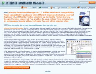 mirror.internetdownloadmanager.com screenshot
