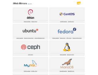 mirror.iweb.com screenshot