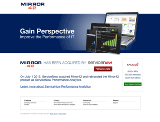 mirror42.com screenshot