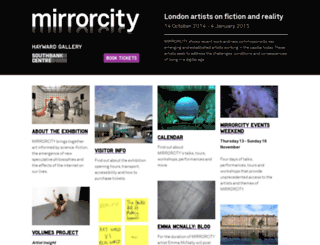 mirrorcity.southbankcentre.co.uk screenshot