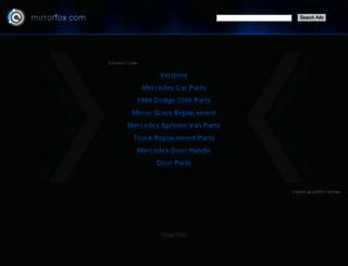 mirrorfox.com screenshot