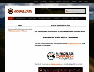 mirrorlessons.com screenshot