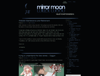 mirrormoon.org screenshot