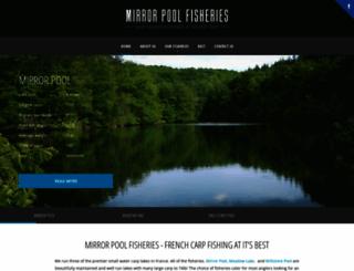 mirrorpool.co.uk screenshot