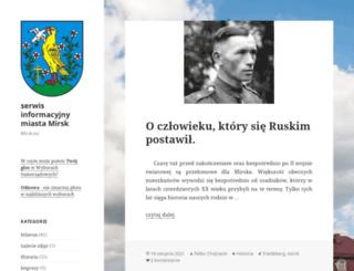 mirsk.eu screenshot