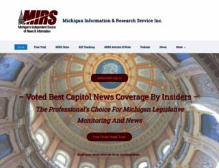 mirsnews.com screenshot
