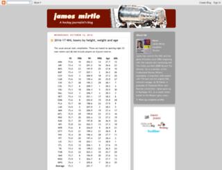 mirtle.blogspot.ca screenshot