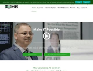mis-solutions.com screenshot