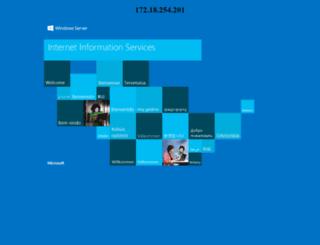 mis.luminad.com screenshot