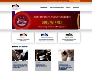 mis.org.sg screenshot