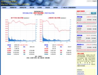 mis.twse.com.tw screenshot