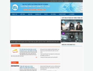 mis.uel.edu.vn screenshot