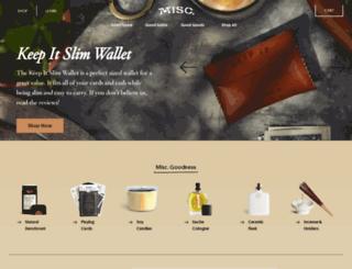 misc-goods-co.myshopify.com screenshot
