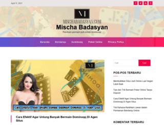 mischabadasyan.com screenshot