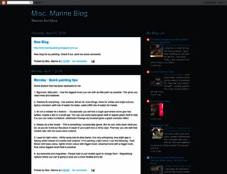 miscmarine.blogspot.com screenshot