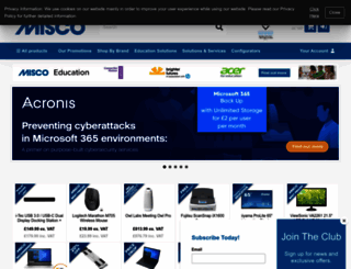 misco.co.uk screenshot