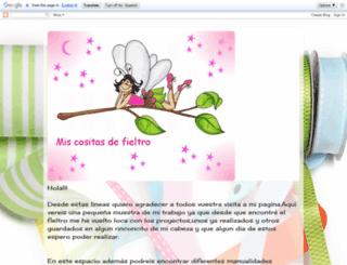 miscositasdefieltro.blogspot.com screenshot