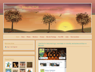 miscrits.webs.com screenshot