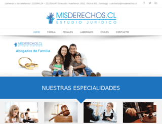 misderechos.cl screenshot