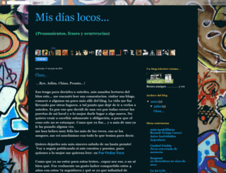 misdiaslocos.blogspot.com screenshot