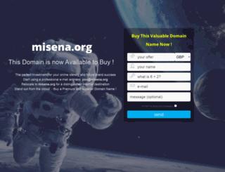 misena.org screenshot