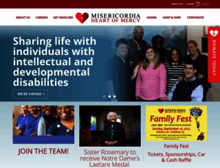 misericordia.com screenshot