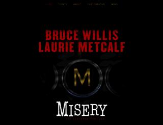 miserybroadway.com screenshot