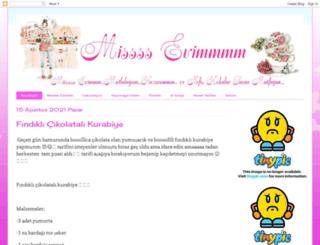 misevimm.blogspot.com.tr screenshot