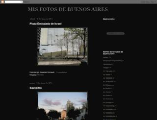 misfotosdebuenosaires.blogspot.com.ar screenshot